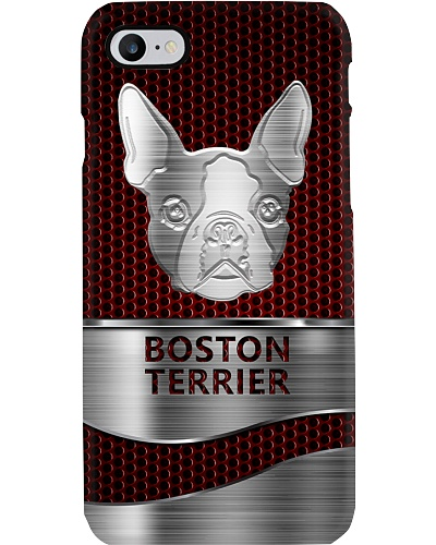 HD Metal Name Tag Bos Terrier