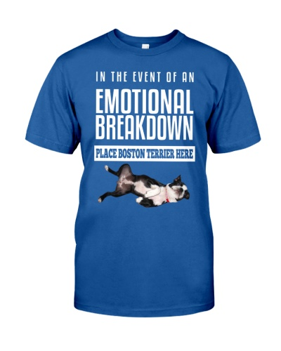 Boston Terrier Emotional Breakdown