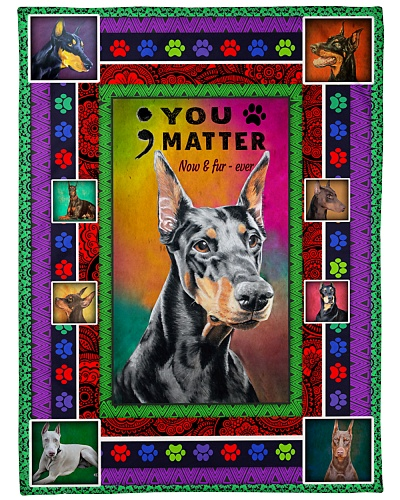 DogTee Doberman  Now and Furever For Dog Lovers