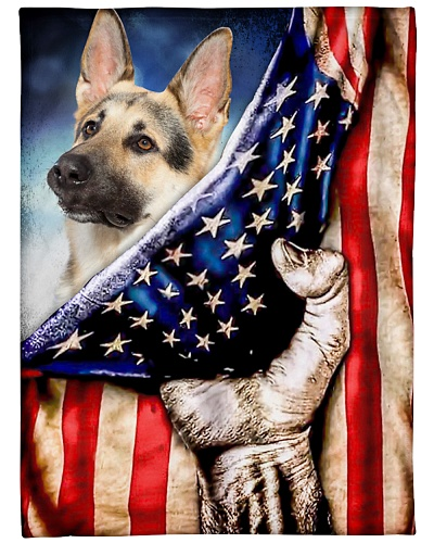 DogTee German Shepherd Patriotic Four Legged