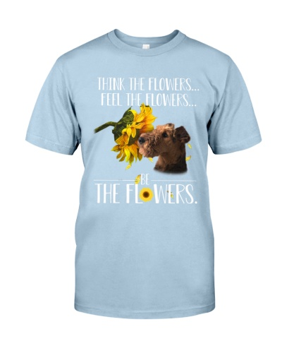 Airedale Terrier Be The Flower