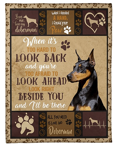 DogTee Doberman All You Need Gift For Dog Lovers