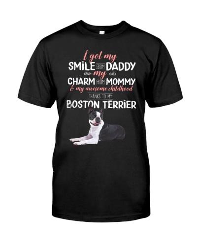 Boston Terrier Thank To