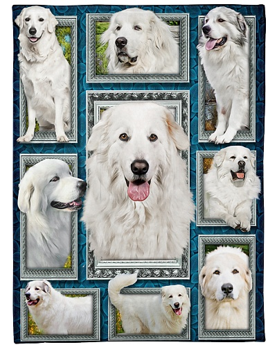 DogTee Great Pyrenees Window Frames For Dog Lovers