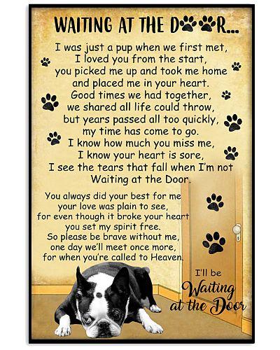 Boston Terrier Waiting