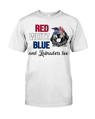 Labrador Retriever American Colors Shirt