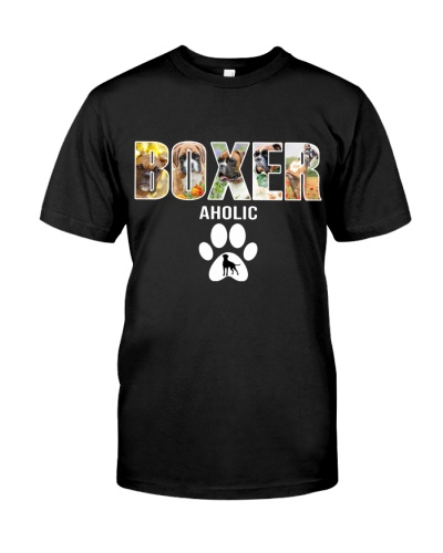 DogTee Boxer Paws Aholic Ever Gift For Dog Lovers
