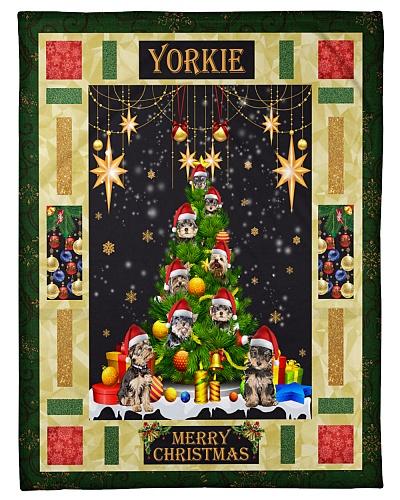 DogTee Yorkie Xmas Pine Tree Gift For Dog Lovers