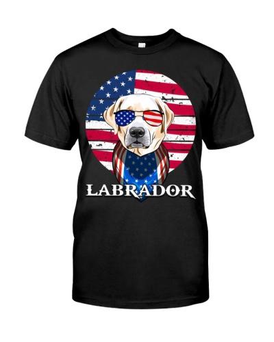 HT Labrador Flag Glasses