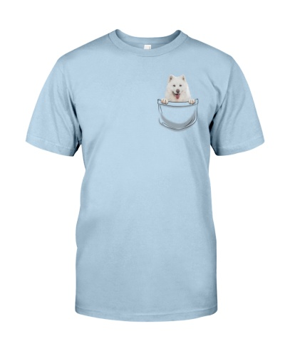 DogTee Samoyed Pocket Pups Gift For Dog Lovers