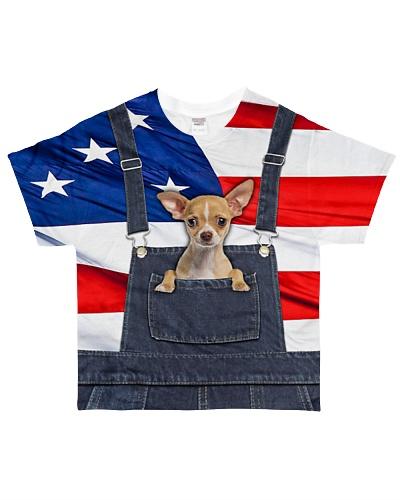 Chihuahua Dungaree