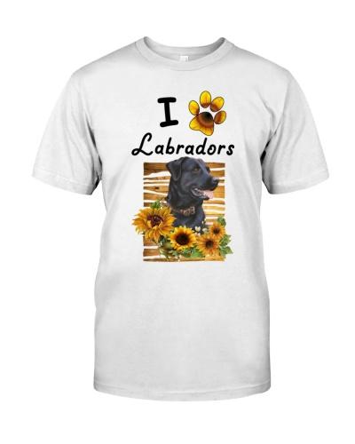 Labrador Sunflower Shirt