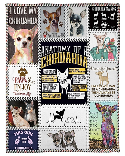 DogTee Chihuahua Anatomy Gift For Dog Lovers
