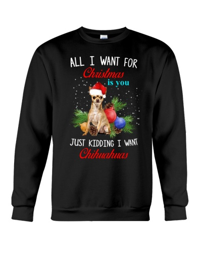 DogTee Chihuahua All I Want