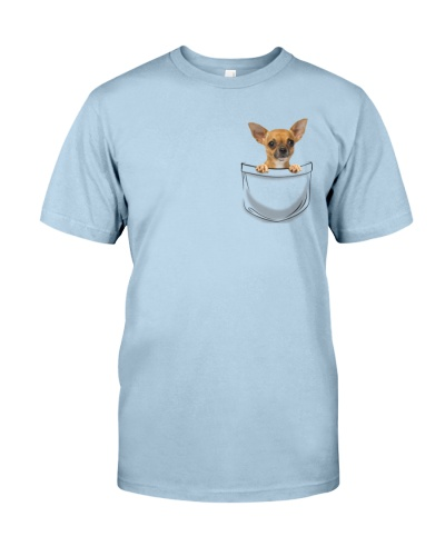 DogTee Chihuahua Pocket Pups Gift For Dog Lovers
