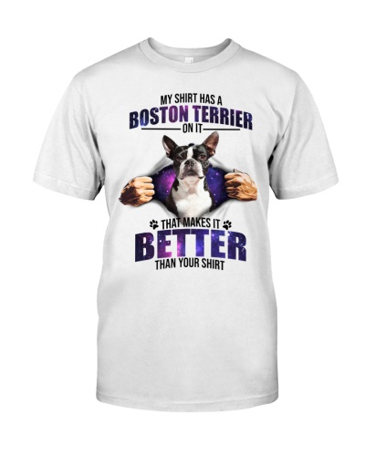 Boston Terrier Mine Is Better