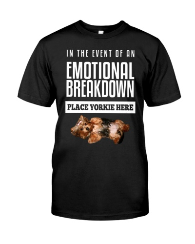 Yorkshire Terrier Emotional Breakdown