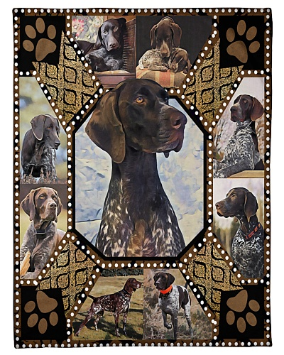 DogTee German Shorthaired Pointer Embroidery