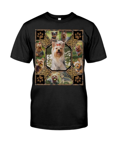 Yorkshire Terrier Embroidery Shirt