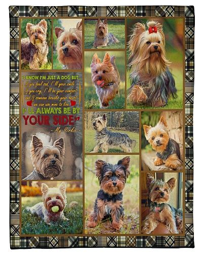 DogTee Yorkie Be By Your Side Gift For Dog Lovers