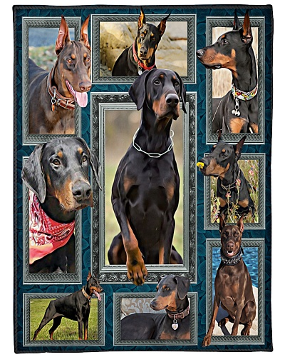 DogTee Doberman Window Frames Gift For Dog Lovers