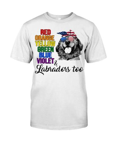 Labrador Retriever Too Shirt