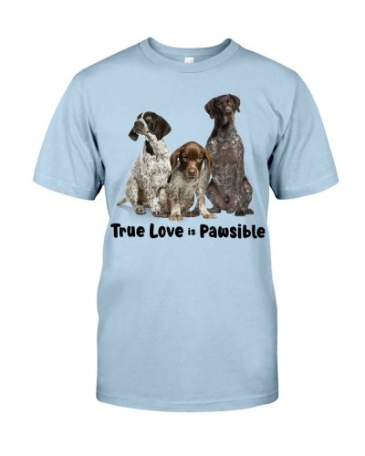 German Shorthaired Pointer True Love Is Pawsible