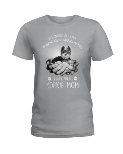 Yorkshire Terrier Proud Mom