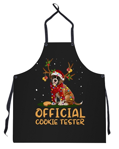 DogTee Boxer Official Cookie Tester Apron