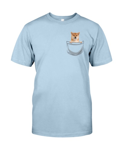 DogTee Shiba Inu Pocket Pups Gift For Dog Lovers