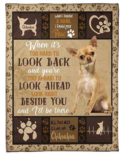 DogTee Chihuahua All You Need Beside You