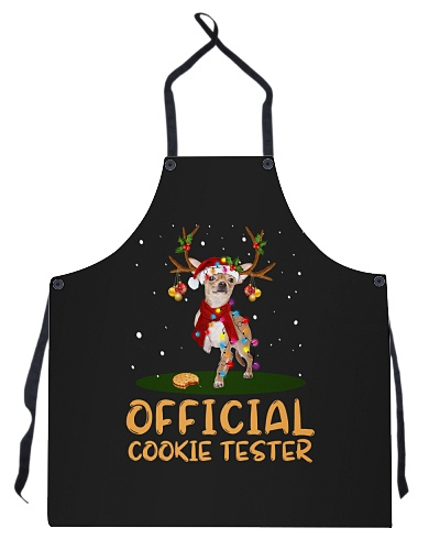 DogTee Chihuahua Official Cookie Tester Apron