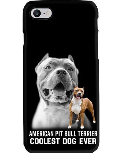 DogTee American Pit Bull Terrier Coolest Ever