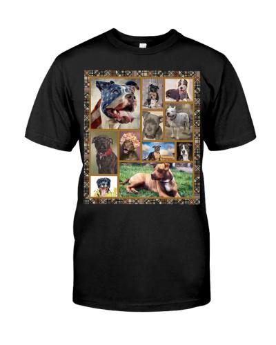 American Pit Bull Terrier Cute Shirt
