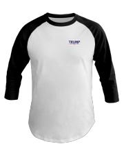Trump Keep America Great 2020 small logo Premium Baseball Tee thumbnail
