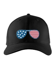 RIDIN' WITH BIDEN CAP Embroidered Hat front