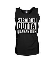 Straight Outta Quarantine  Unisex Tank thumbnail