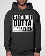 Straight Outta Quarantine  Hooded Sweatshirt garment-hooded-sweatshirt-front-03