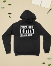 Straight Outta Quarantine  Hooded Sweatshirt lifestyle-unisex-hoodie-front-6