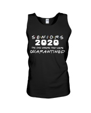 Seniors The One Where They Were Quarantined 2020 Unisex Tank thumbnail