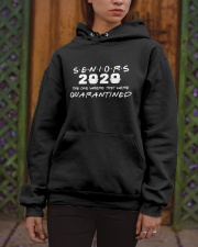 Seniors The One Where They Were Quarantined 2020 Hooded Sweatshirt apparel-hooded-sweatshirt-lifestyle-front-03