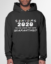 Seniors The One Where They Were Quarantined 2020 Hooded Sweatshirt garment-hooded-sweatshirt-front-03
