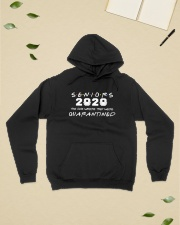 Seniors The One Where They Were Quarantined 2020 Hooded Sweatshirt lifestyle-unisex-hoodie-front-6