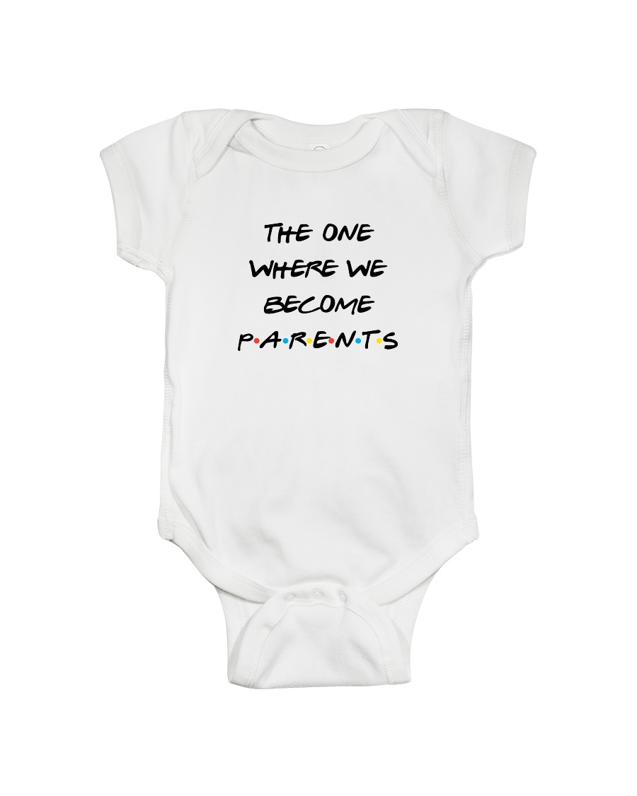 TOW We Become Parents Onesie