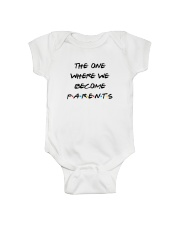 TOW We Become Parents Onesie front