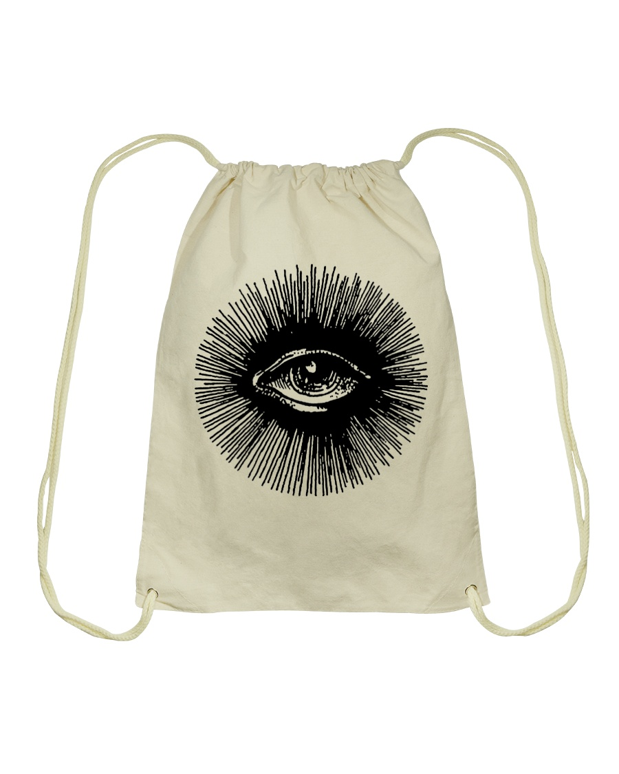 3rd Eye T Drawstring Bag