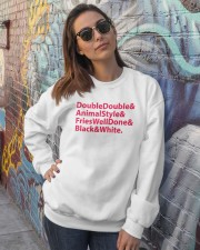 The Secret Menu Crewneck Sweatshirt lifestyle-unisex-sweatshirt-front-3