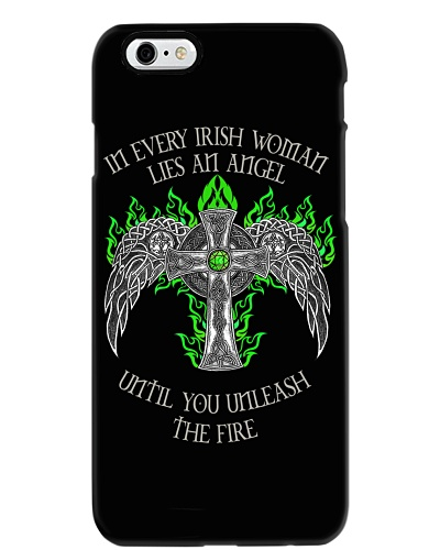 In every Irish woman lies an angel