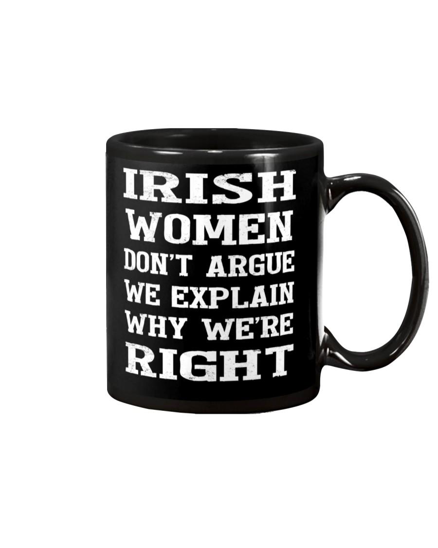 Irish women don't argue Mug