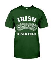 Irish Never Fold Classic T-Shirt front